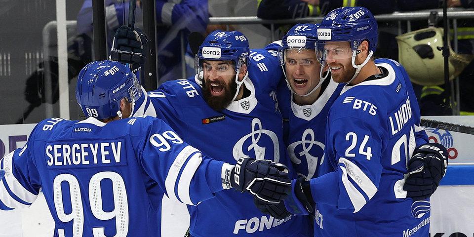 Дубль Шипачева помог «Динамо» обыграть «Сибирь»