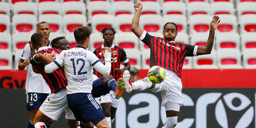 «Ницца» забила четыре мяча «Бордо»