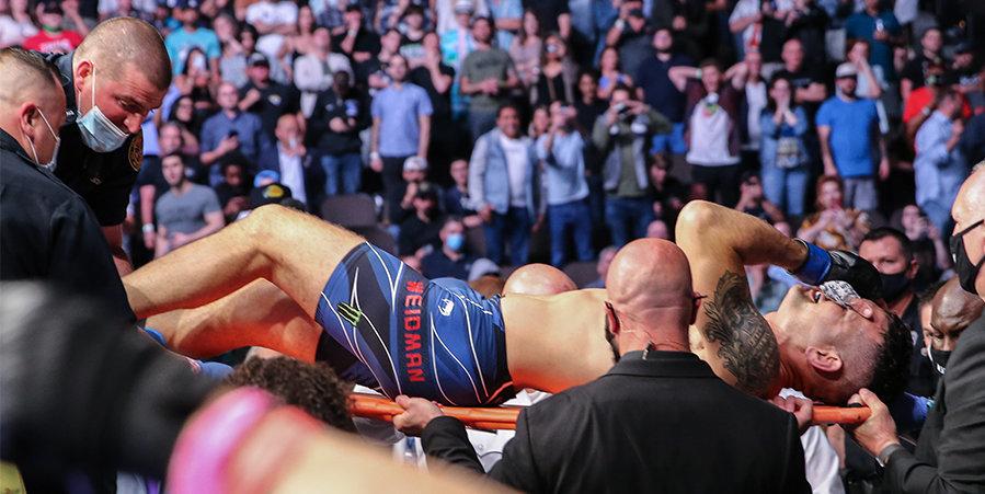 Вайдман успешно прооперирован после перелома ноги на UFC 261