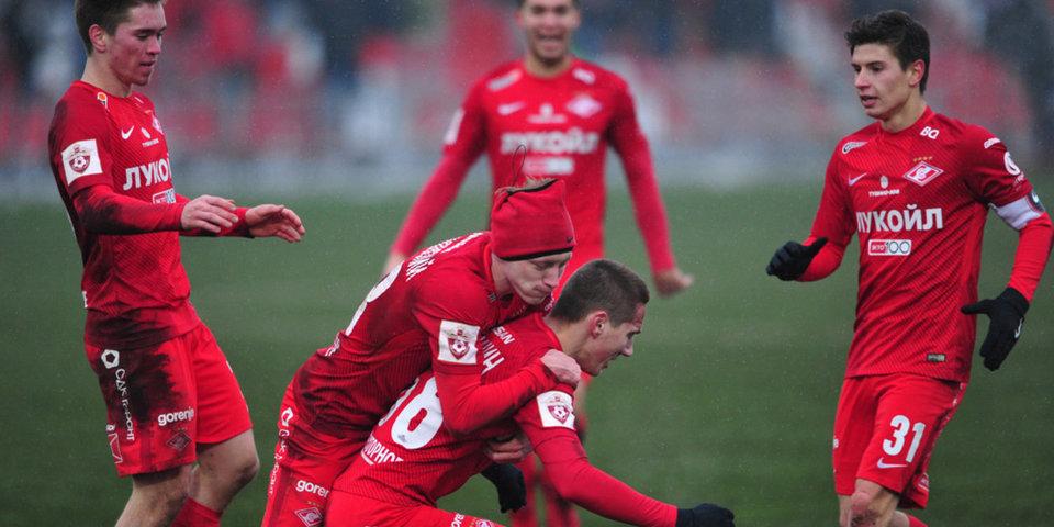 «Спартак» обыграл «Рейнджерс» в матче молодежных команд