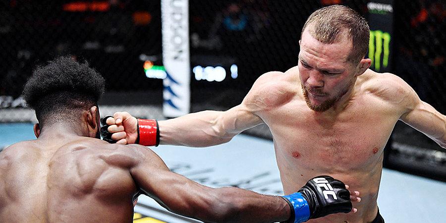 Петр Ян опустился на 13-е место в рейтинге лучших бойцов UFC