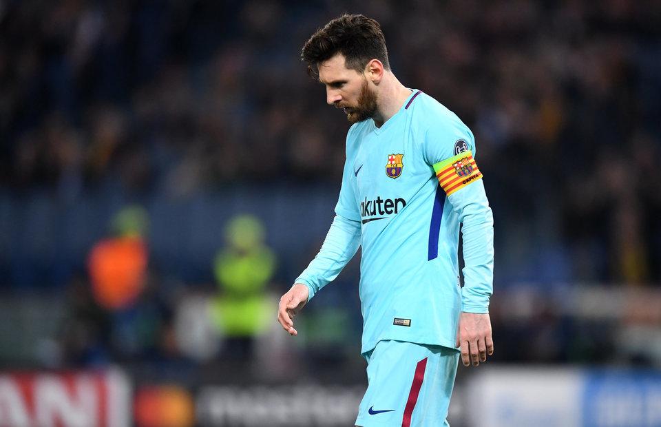 Месси провел 700 матчей за «Барселону»