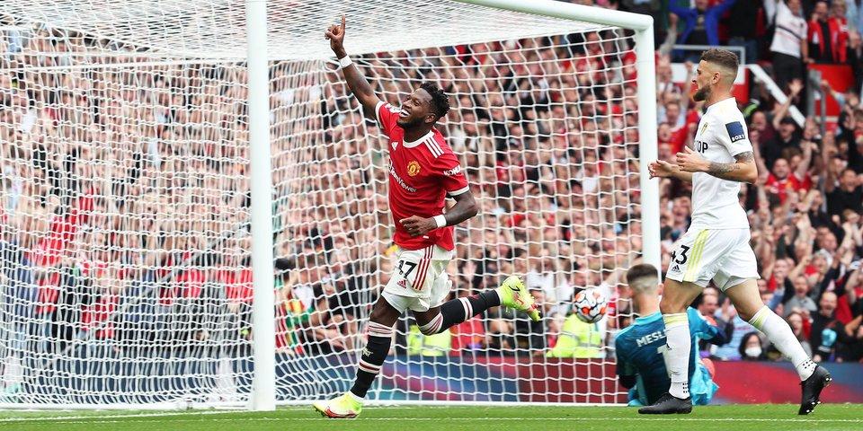 «Манчестер Юнайтед» разгромил «Лидс» на старте АПЛ, забив 5 мячей