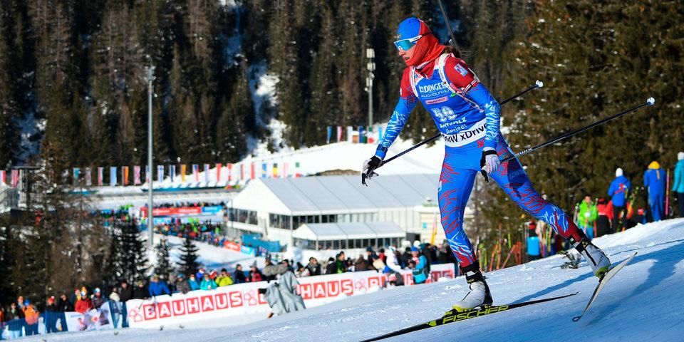 Миронова получила 8-й номер в индивидуальной гонке на КМ в Эстерсунде, Юрлова-Перхт — 23-й
