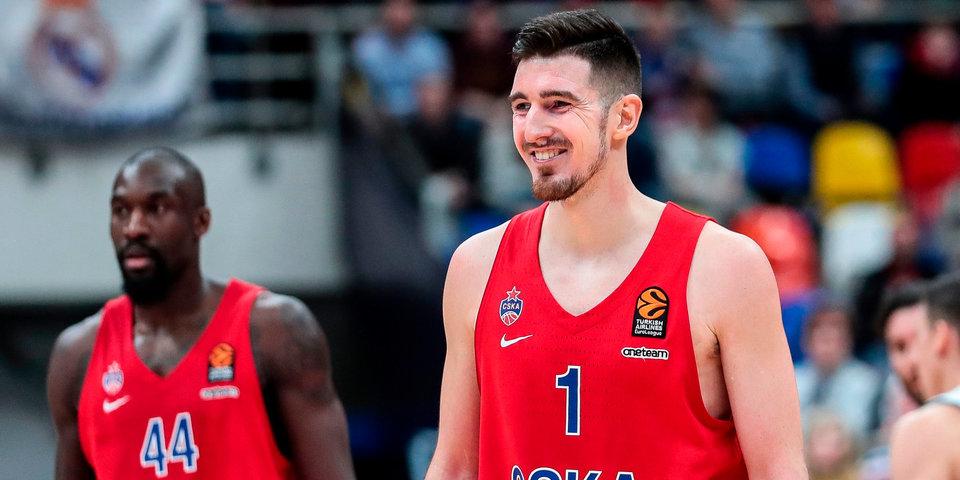 Защитник ЦСКА Нандо Де Коло признан MVP четвертого тура Евролиги