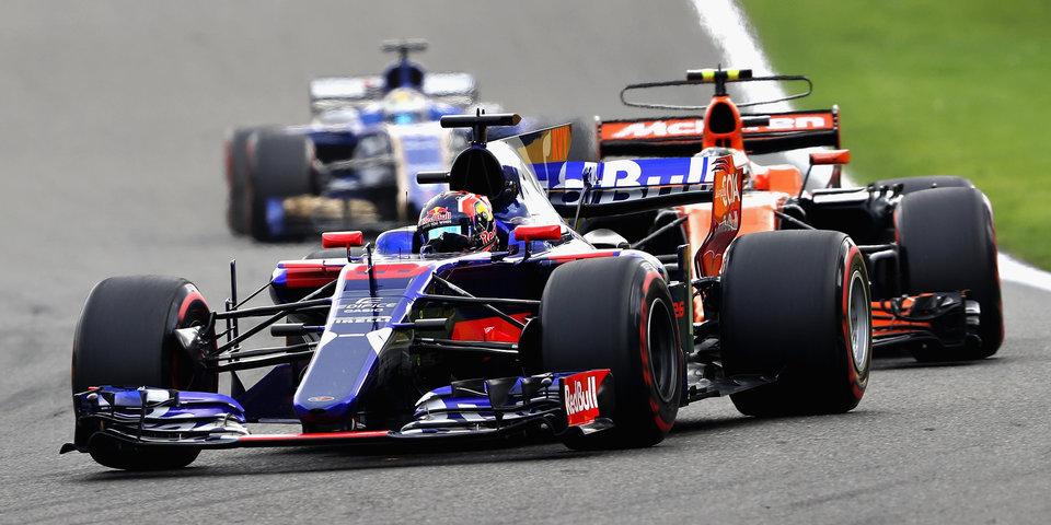 Перес сходит с ума, Квят финиширует 12-м: лучшие моменты Гран-при Бельгии