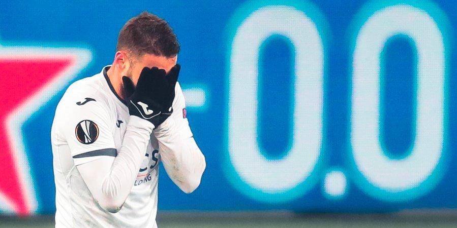 Влашич не смог продолжить матч с «Уфой»