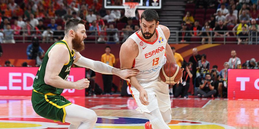 Сборная Испании обыграла Австралию во втором овертайме и вышла в финал чемпионата мира