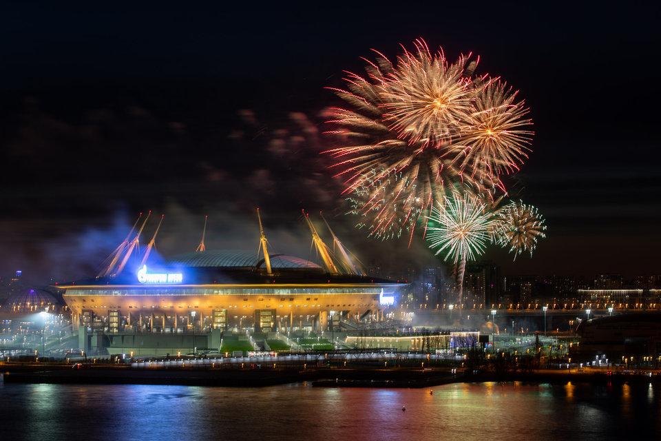 «Зенит» поздравил Санкт-Петербург с 318-летием города