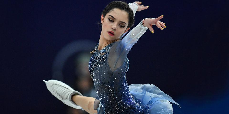 Медведева установила новый мировой рекорд в короткой программе командного турнира