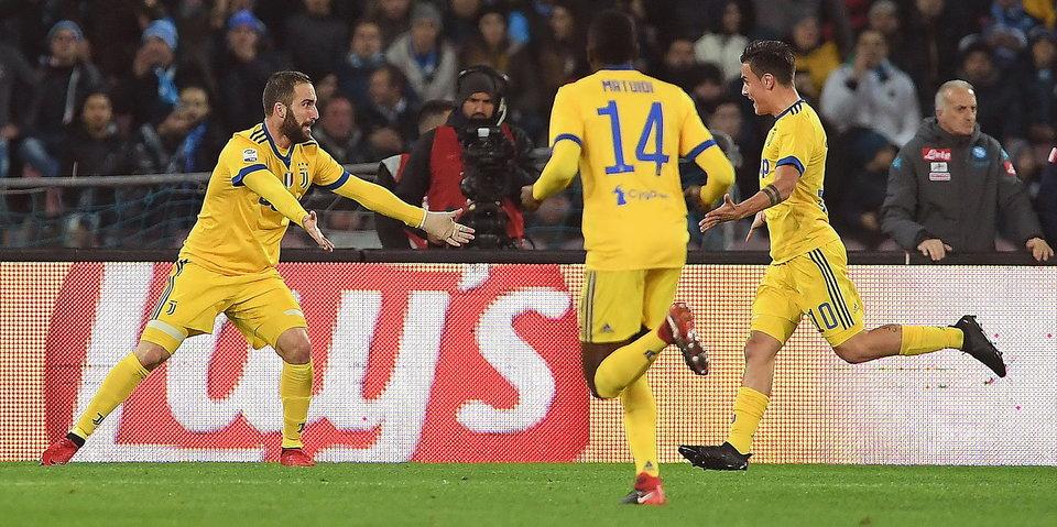 Игуаин снова забивает в Неаполе. Теперь своей бывшей команде