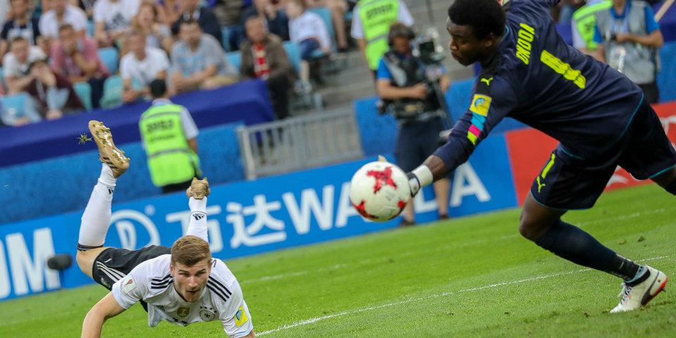 Вернер обошел Роналду на Кубке конфедераций-2017