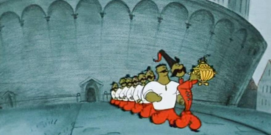 Гибкость, дриблинг и 2-4-1. Тактический разбор мультфильма «Как казаки играли в футбол»