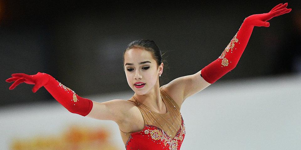 Загитова идет второй после короткой программы финала Гран-при, Сотскова – 4-я