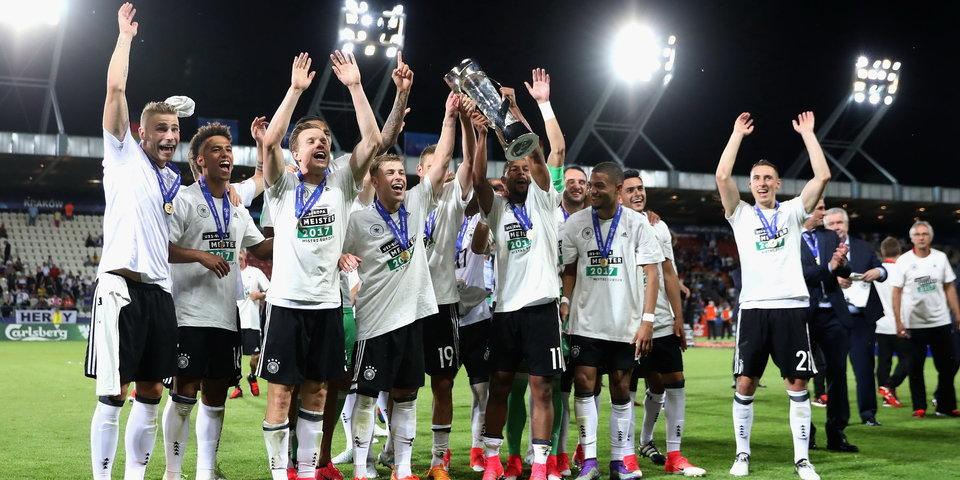 Сборная Германии, которая стала лучшей раньше команды Лева