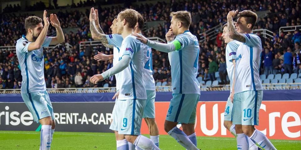«Зенит» — самая результативная команда группового этапа Лиги Европы. И это еще не все