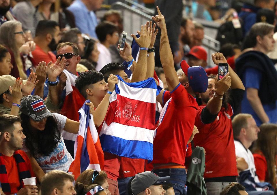 Коста-Рика прилетела в Самару на игру против Сербии