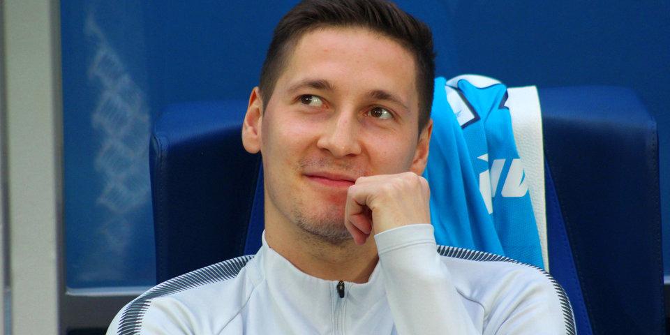 Кузяев признан лучшим игроком матча «Зенит» – «Бордо»