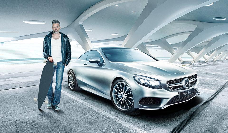 Mercedes-Benz StarClass дает шанс встать в один ряд с Роналду и Кокориным