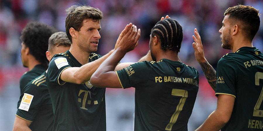 «Бавария» забила 7 мячей «Бохуму» в Бундеслиге