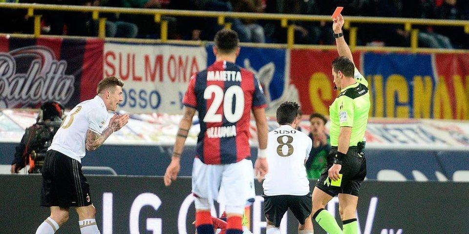 Героическая победа «Милана» вдевятером