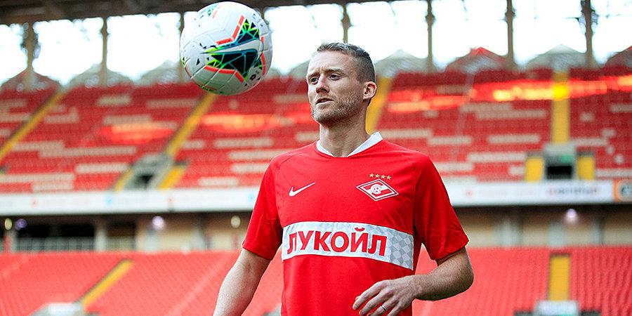 Шюррле объяснил свое решение перейти в «Спартак»