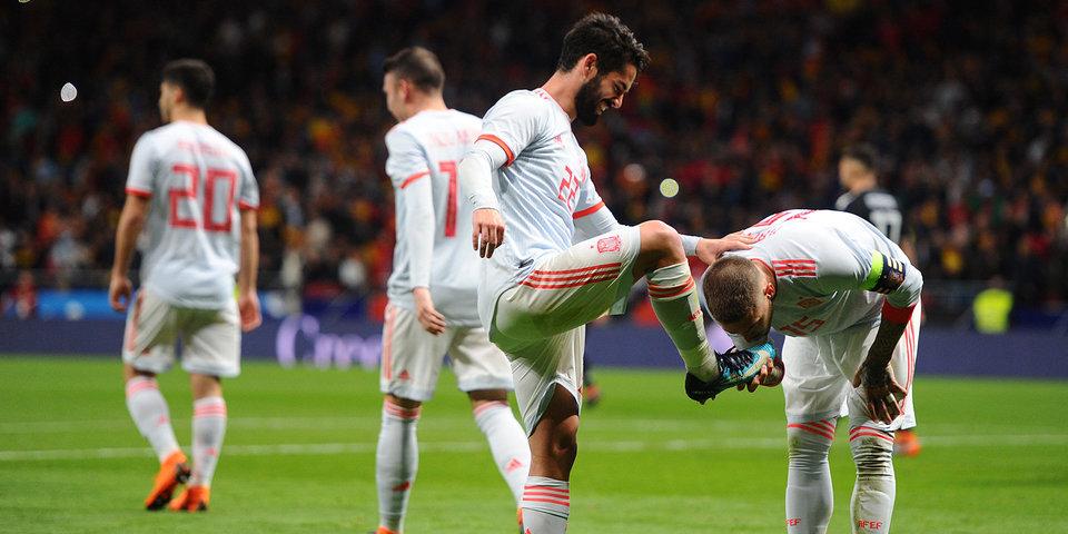 Испанцы объявили состав сборной на матчи Лиги наций