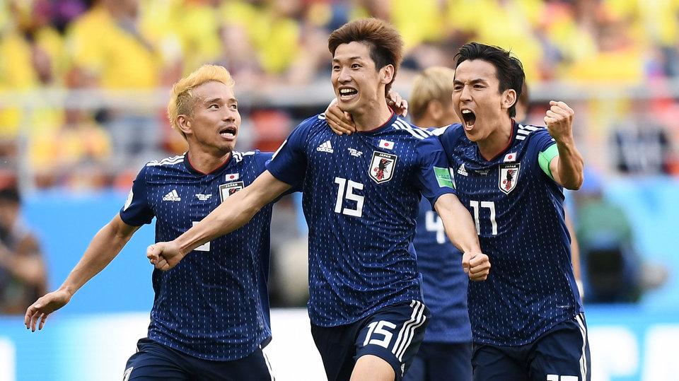 Япония прилетела в Екатеринбург на матч ЧМ-2018
