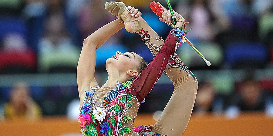 Ирина Винер-Усманова объяснила ошибку Арины Авериной в упражнении с булавами