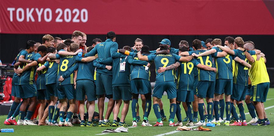Австралия в большинстве победила Аргентину на Олимпиаде