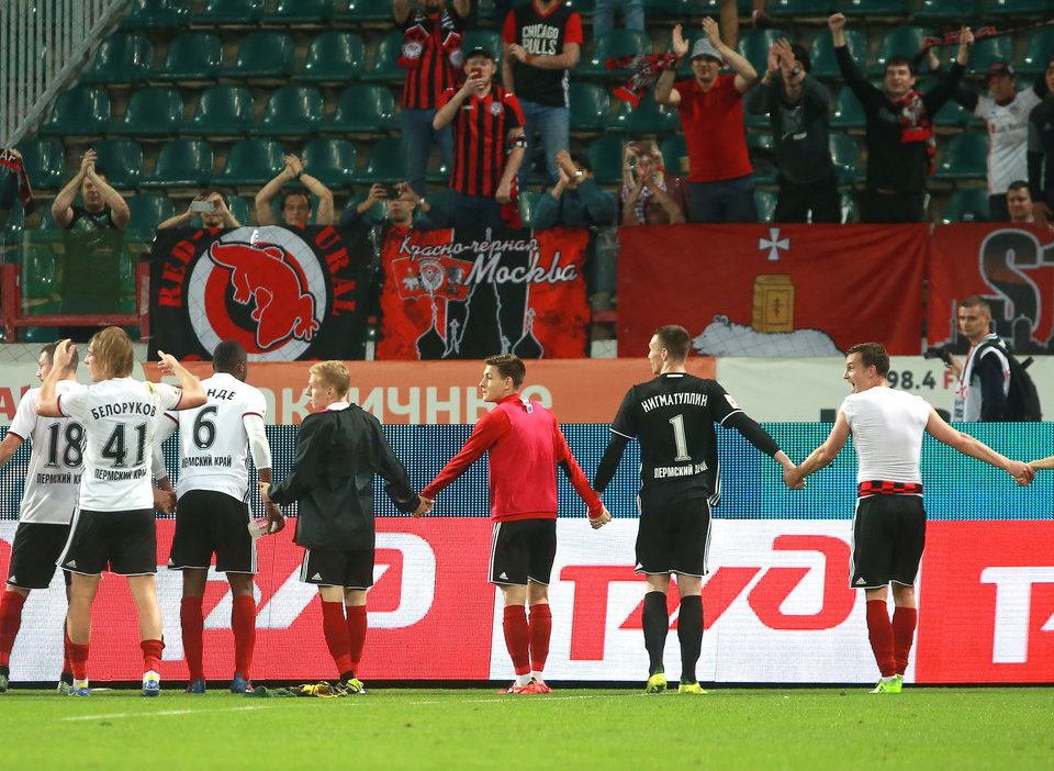 «Амкар» разгромил «Факел» в Кубке, «Арарат» уступил СКА