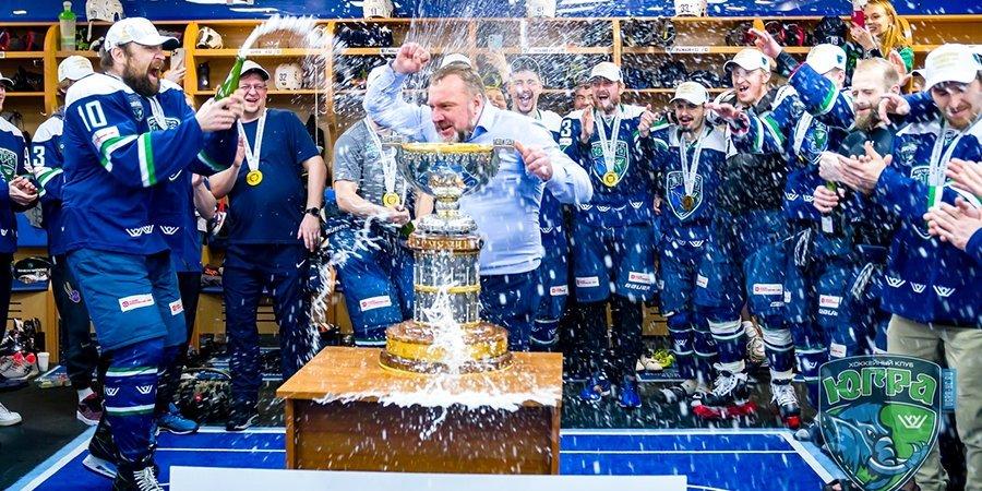 Кицын установил рекорд, но «Кузне» это не помогло. «Югра» — обладатель Кубка Петрова