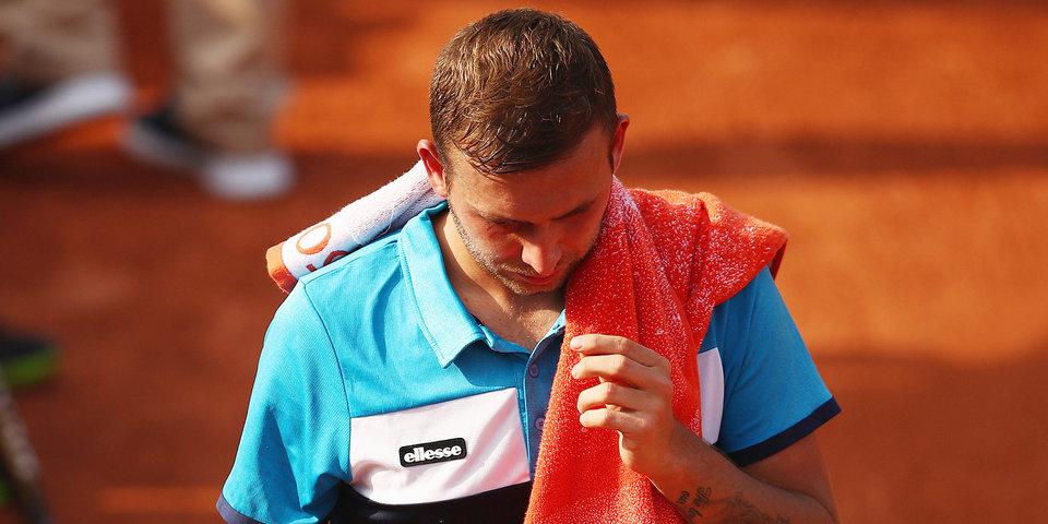 Британский теннисист дисквалифицирован на год из-за кокаина
