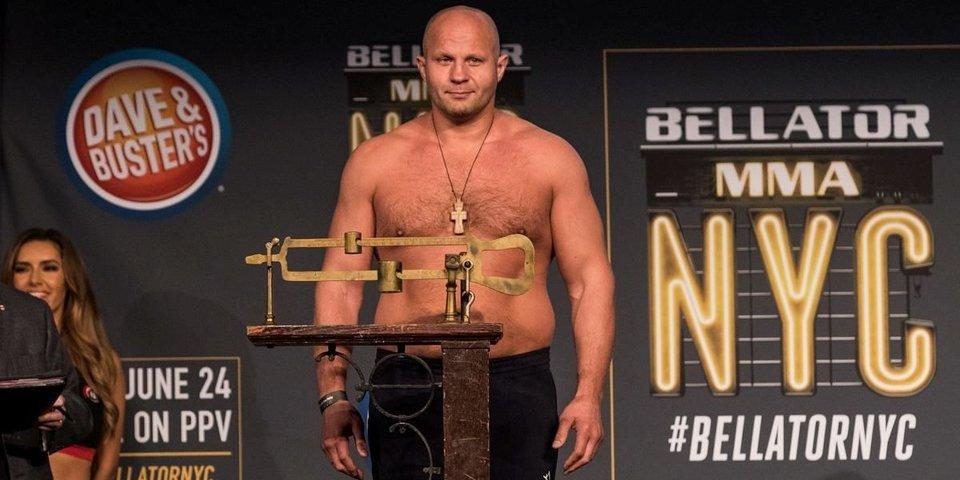Федор Емельяненко в 42 года может стать чемпионом Bellator. Что об этом нужно знать