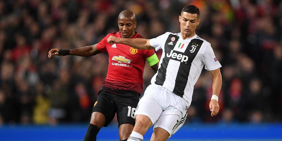 «Манчестер Юнайтед» в концовке вырвал победу у «Ювентуса»