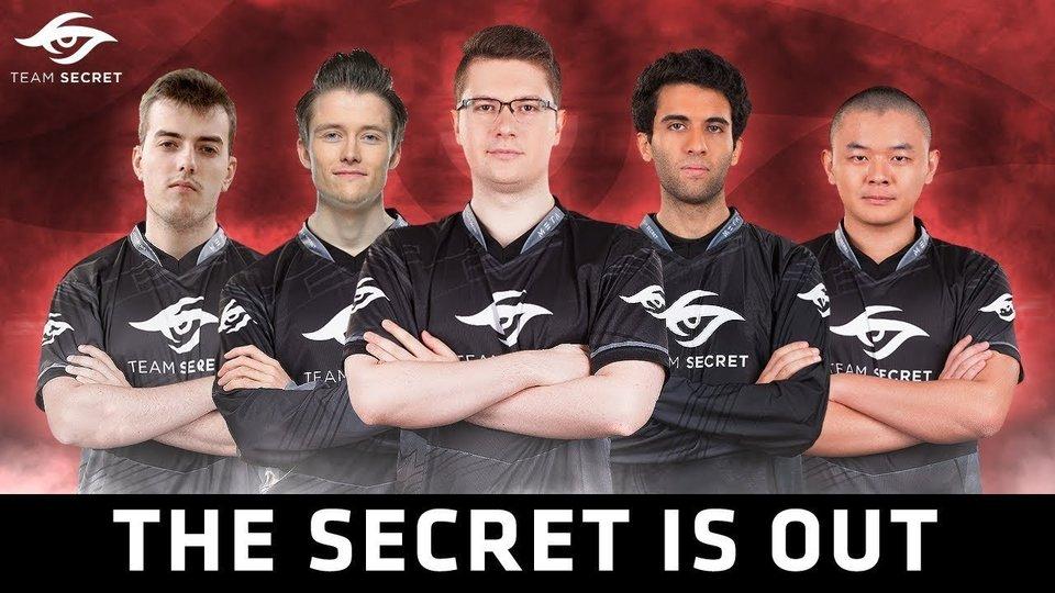 DOTA 2: Team Secret представили новый состав
