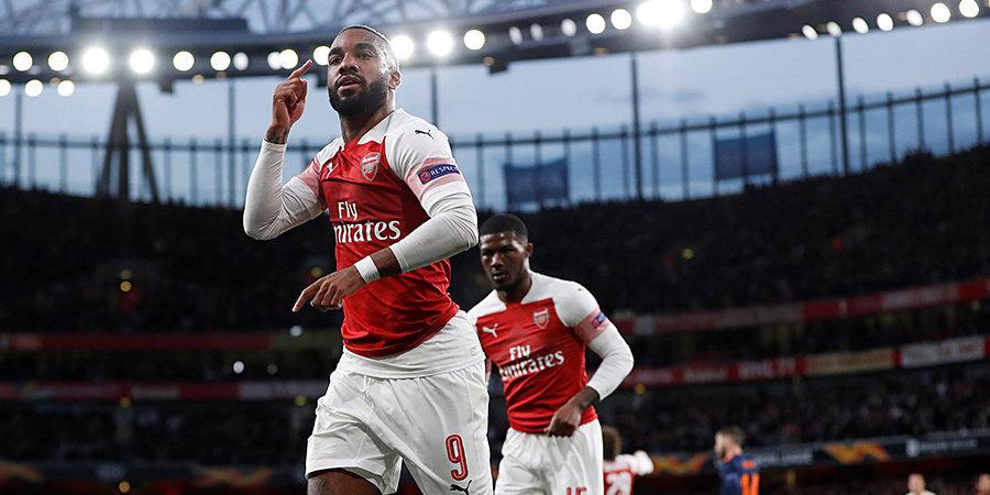 «Арсенал» забил три и одержал волевую победу над «Валенсией». Голы и лучшие моменты