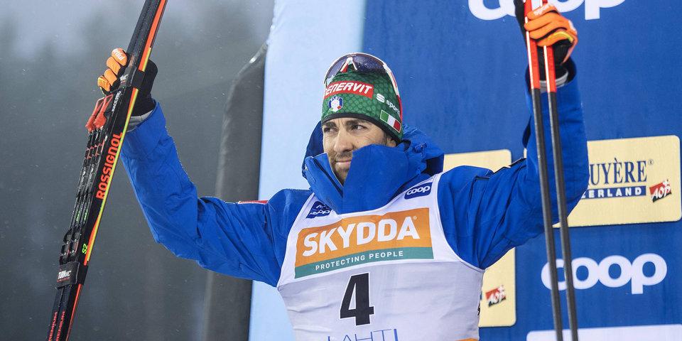 Пеллегрино победил в спринте на домашнем этапе Кубка мира