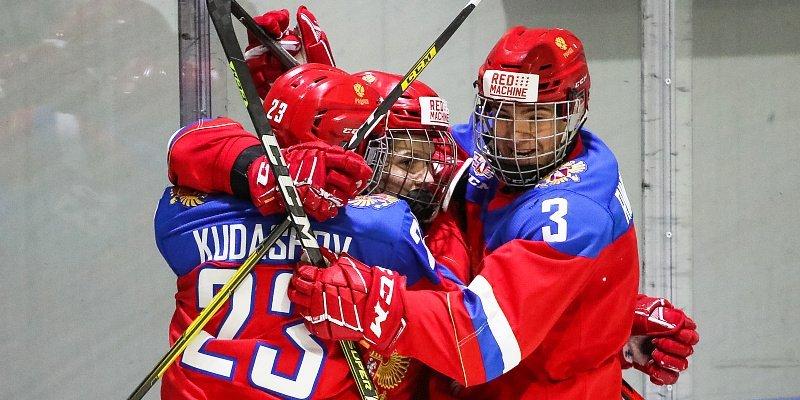 Юниорская сборная Россия выиграла Кубок Глинки/Гретцки
