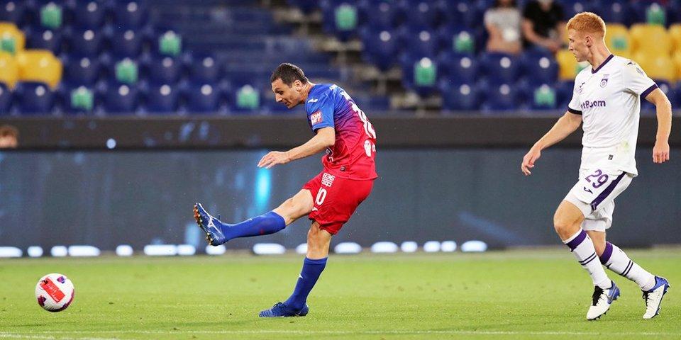 Дзагоев признан лучшим игроком в матче ЦСКА с «Уфой»