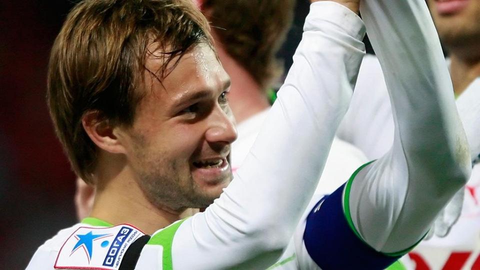 Команда «Звезды России» обыграла звезд европейского футбола в Санкт-Петербурге