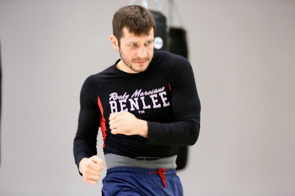 Михалкин защитил титул IBO