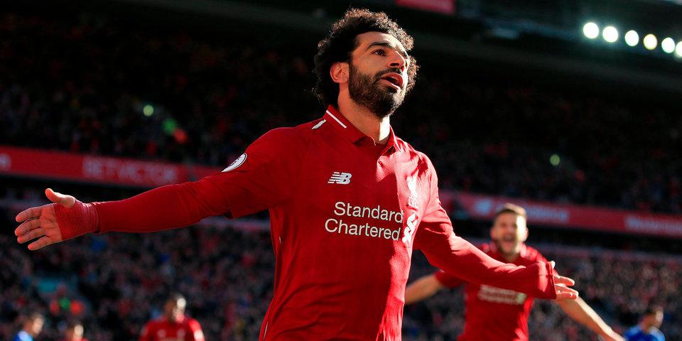 Салах вошел в тройку лучших футболистов сезона по версии британских журналистов