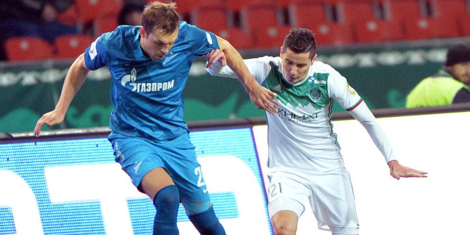 «Зенит» проиграл «Тереку»: гол и лучшие моменты игры