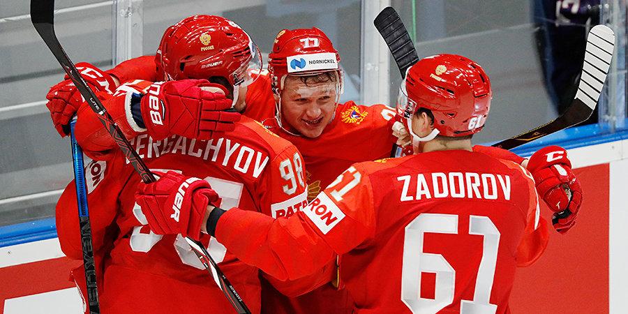 Каспарайтис считает, что сборной России есть куда прибавлять