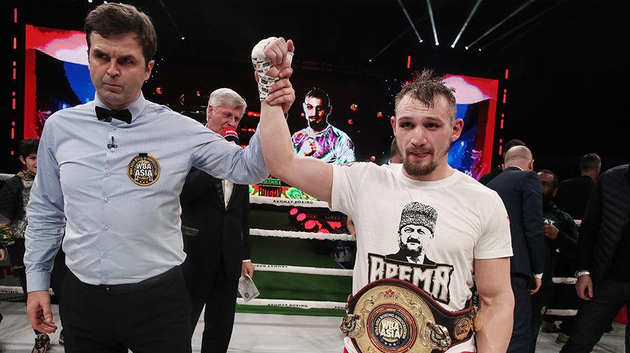 Идигов стал обладателем пояса WBA Asia
