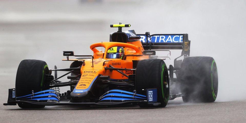 Норрис признан гонщиком дня на Гран-при России