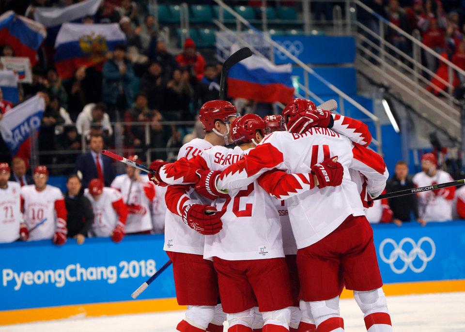 Российские хоккеисты вышли в финал олимпийского турнира