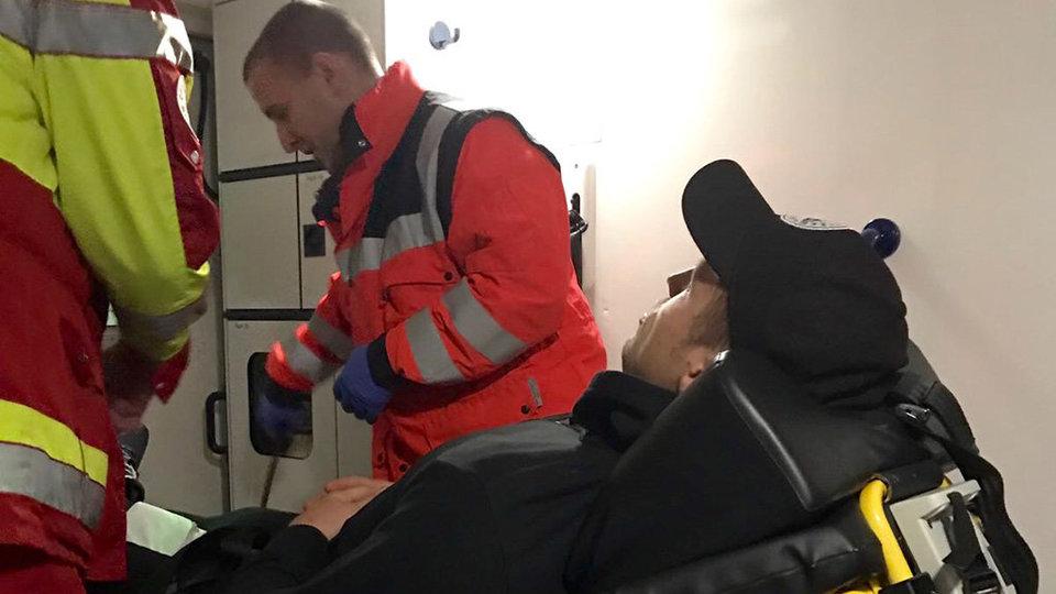 Бриедис попал в больницу после боя с Хуком