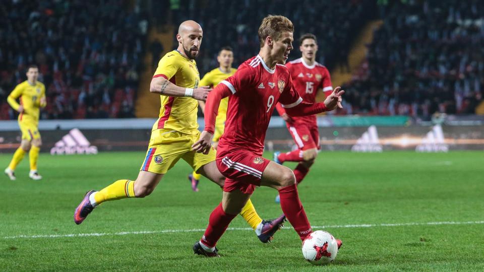 Оздоев принес России победу над Румынией